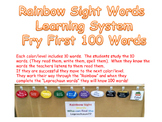 Rainbow Sight Word System Fry's First 100 Words