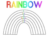 Rainbow Sight Word Writing
