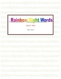 Rainbow Sight Words Level 1