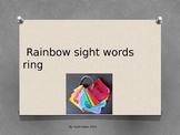 Rainbow Sight Words Ring