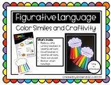 Rainbow Simile Writing and Craftivity