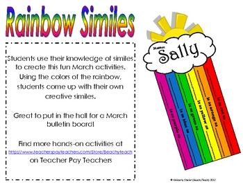 Rainbow Similes