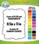Ultimate Rainbow Skinny Doodle Border Frames Mega Bundle – Over 625 Graphics!