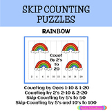 Rainbow Skip Counting Puzzles