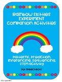 Rainbow Skittles Experiment Companion Activities