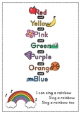 Rainbow Song A3 Poster