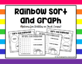 Skittle or Fruit Loop Math - Sorting and Graphing  Activities