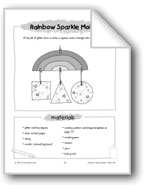 Rainbow Sparkle Mobile