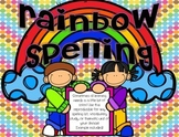 Rainbow Spelling FREE