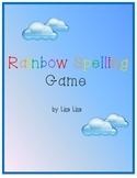 Rainbow Spelling Game