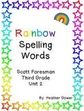 Rainbow Spelling Words Unit 2
