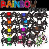 Rainbow Spiders Bundle | KGJ Clipart