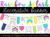 Rainbow Splash Banner