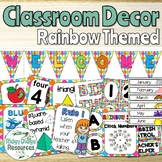 Rainbow Spot Theme Classroom Decor Bundle