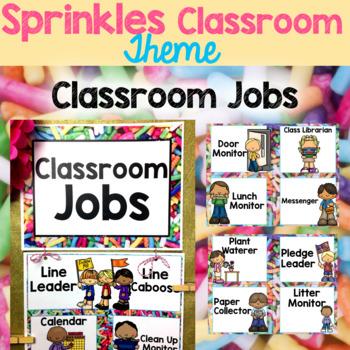 Rainbow Sprinkles Classroom Theme & Classroom Management Set