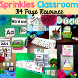 Classroom Themes Decor Bundles - Rainbow Sprinkles