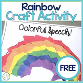 Rainbow St. Patrick's Craft FREEBIE:  Open Ended Reinforce