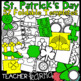 Rainbow - St. Patrick's Day Foldable - Flip Book Template FREEBIE