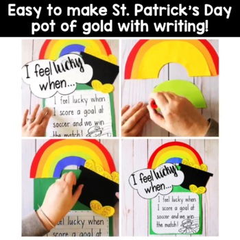 Rainbow St. Patrick's Day Pot of Gold
