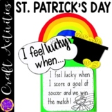 Rainbow St Patricks Day Pot of Gold