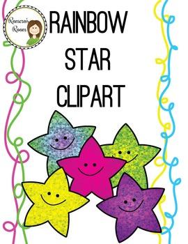 Rainbow Star Clipart