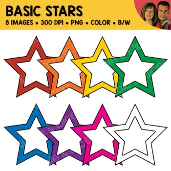 FREE Basic Star Clipart
