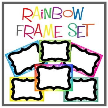 Rainbow Star Frame Set
