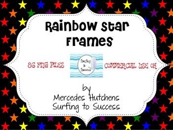 Rainbow Star Frames