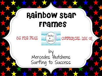 Rainbow Star Frames