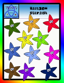 Rainbow Starfish