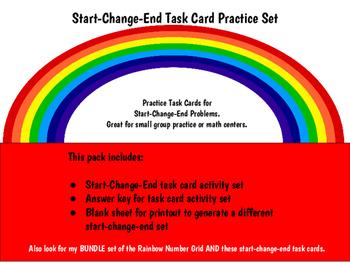 Start Change End Task Card Set