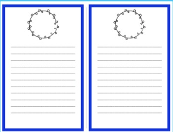 Rainbow Stationary Writing Pages