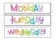 Rainbow Sterilite Drawer Labels
