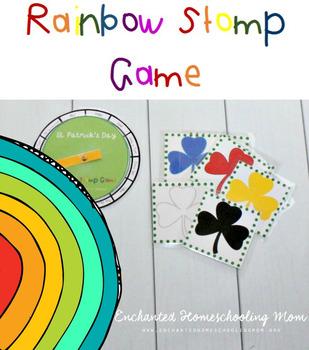 Rainbow Stomp Game