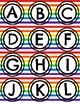 Rainbow Strip Alphabet & Numbers Printable