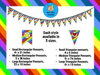 Rainbow Stripe Total Package Bundle