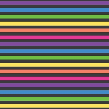 Rainbow Stripes Background Papers in Bubble Gum Colors