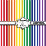 Rainbow Stripes Background Patterns
