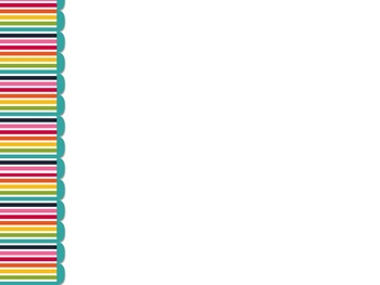 Rainbow Stripes PowerPoint Template