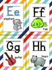 Rainbow Stripes Word Wall Headers