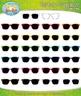 Rainbow Sunglasses Clip Art — Over 25 Graphics!