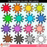 Rainbow Sun Clip Art