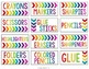 Rainbow Supply Labels EDITABLE!