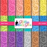Rainbow Swirl Scrapbook Paper Backgrounds {Glitter Meets Glue}