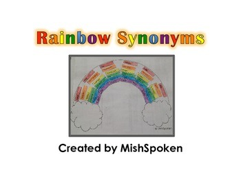 Rainbow Synonyms