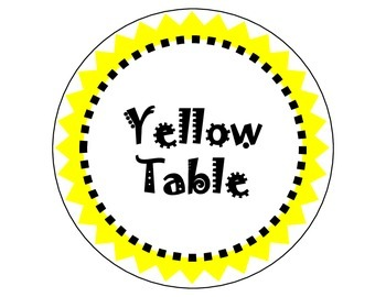 Rainbow Table Group Signs