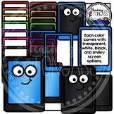 Rainbow Tablet Clipart (iPad Clipart)