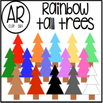 Rainbow Tall Trees