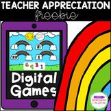Rainbow Tally Marks - Digital Game / Distance Learning Freebie