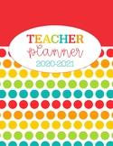 Rainbow Teacher Planner 2019-2020